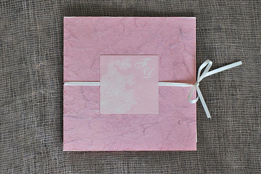 carta di riso rosa