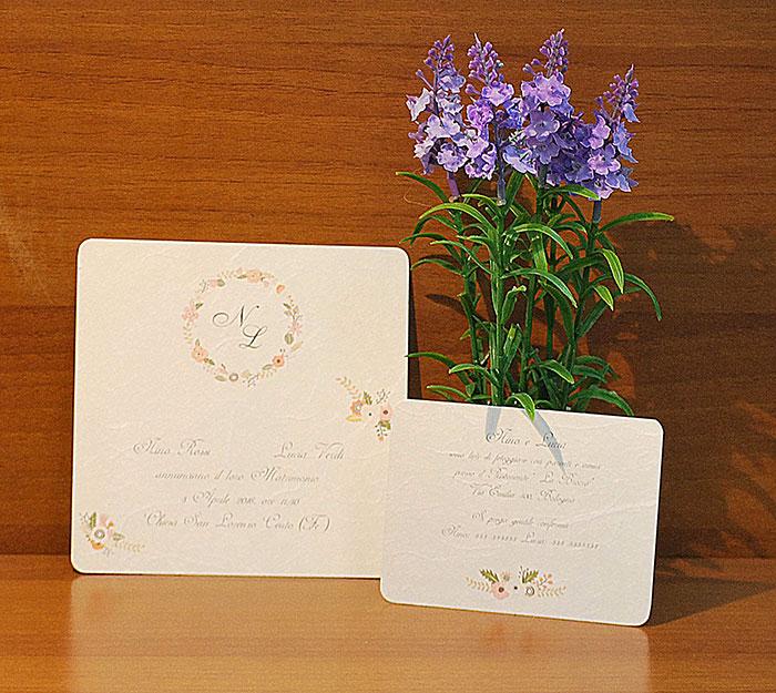 Carta Di Riso Bologna.Partecipazioni Matrimonio Bologna